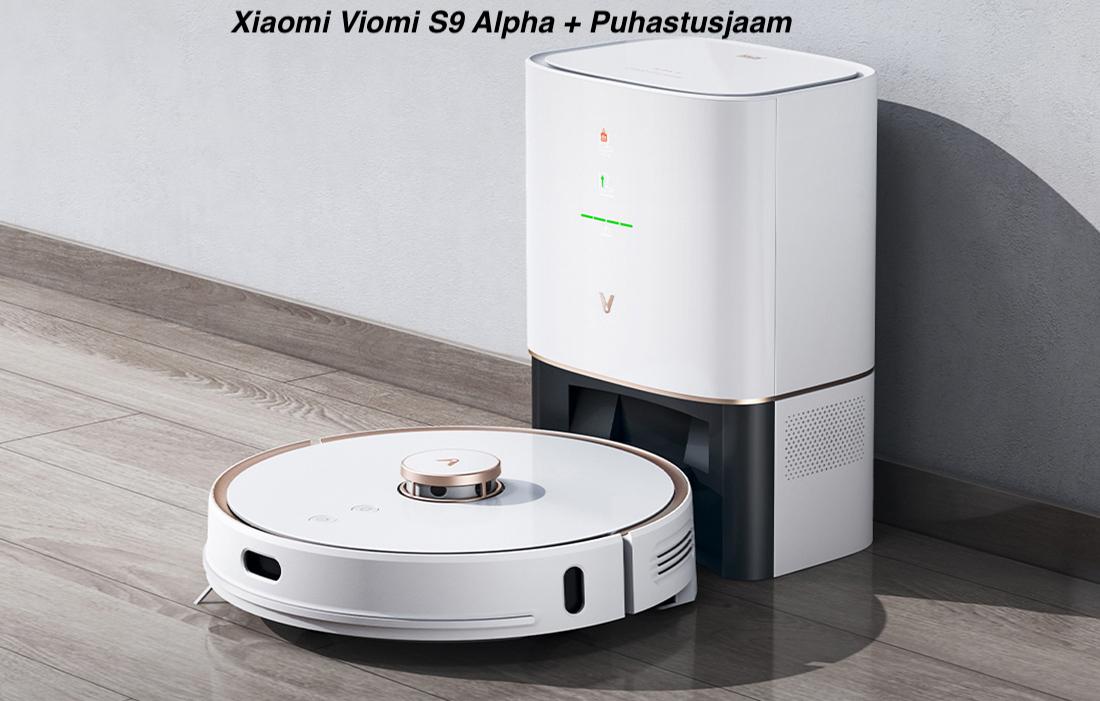Viomi-S9-Alpha-Puhastusjaamaga